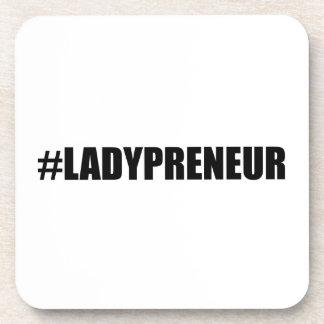 Hashtag Lady Entrepreneur Coaster
