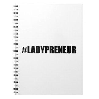 Hashtag Lady Entrepreneur Notebook