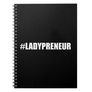 Hashtag Lady Entrepreneur Notebooks