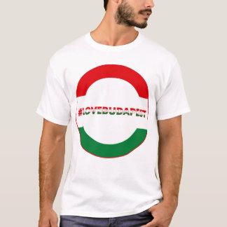 hashtag love Budapest, circle T-Shirt