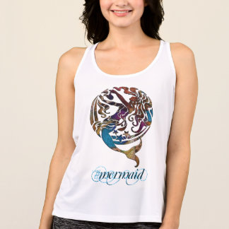Hashtag Mermaid Performance Sport Tank