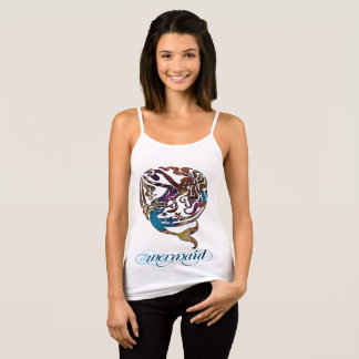 Hashtag Mermaid Spaghetti Strap Tank Top