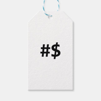 hashtag money gift tags