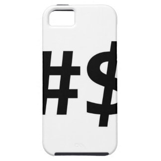 hashtag money iPhone 5 cover
