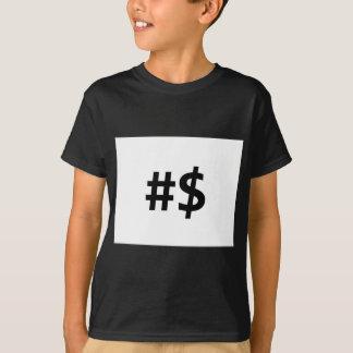 hashtag money T-Shirt