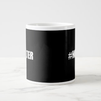 Hashtag No Filter Giant Coffee Mug