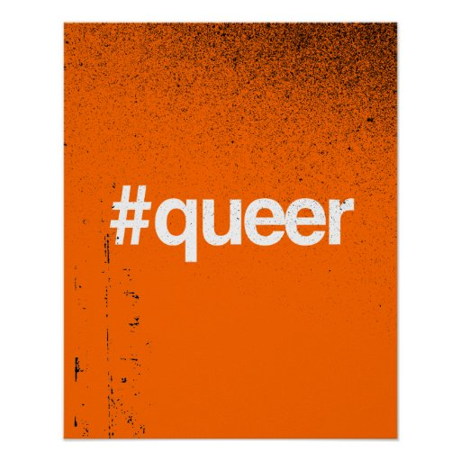 HASHTAG QUEER POSTERS