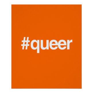 HASHTAG QUEER POSTER