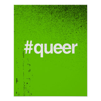 HASHTAG QUEER PRINT