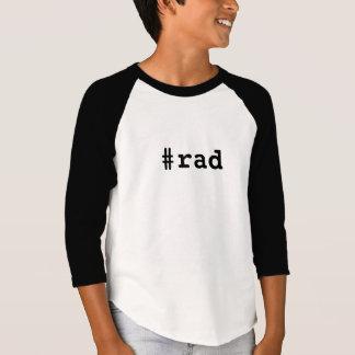 Hashtag Rad Kids Raglan 3/4 Sleeve Shirt