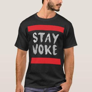 Hashtag Stay Woke Movement Protest T-Shirt