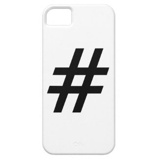 hashtag text symbol letter iPhone 5 cases