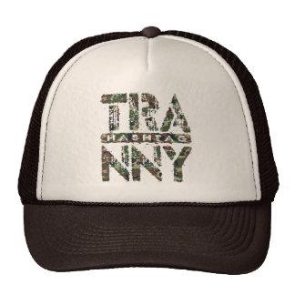 Hashtag TRANNY - Love Rebuilt Transmissions, Camo Trucker Hat
