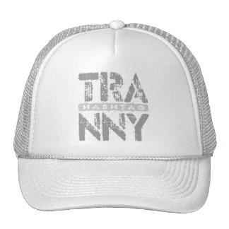 Hashtag TRANNY - Love Rebuilt Transmissions, Gray Trucker Hat
