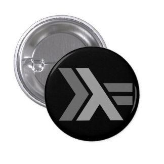 Haskell Thompson-Wheeler logo 1 Inch Round Button