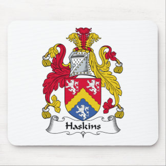 Haskins Family Crest Mouse Pad