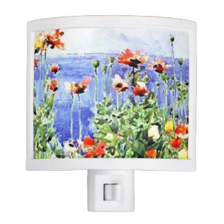 Hassam Poppies Night Light