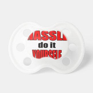 HASSLE doityourself annoying work boss task skippi Pacifiers
