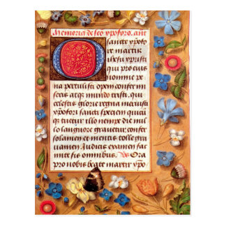 Hasting Book of Hours Postcard