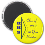 Hastings High school class of 1960 2 Inch Round Magnet