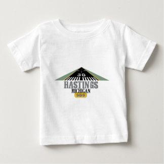 Hastings MI - Airport Runway Baby T-Shirt