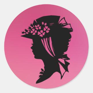 Hat 18 pink ice sticker © Angel Honey 2010