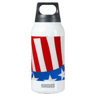 hat america uncle sam uncle sam hat insulated water bottle