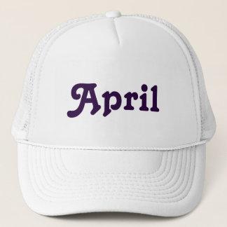Hat April