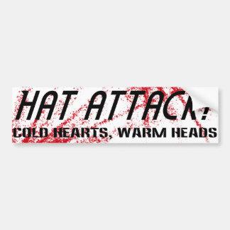 HAT ATTACK Sticker - cold hearts