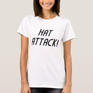 HAT ATTACK! tee - text only