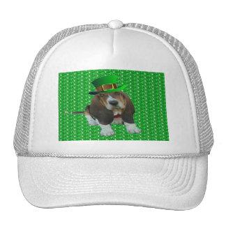 Hat Basset Hound Happy St Patrick's Day