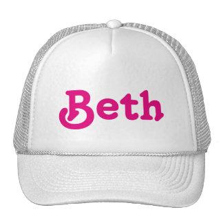 Hat Beth