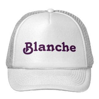 Hat Blanche