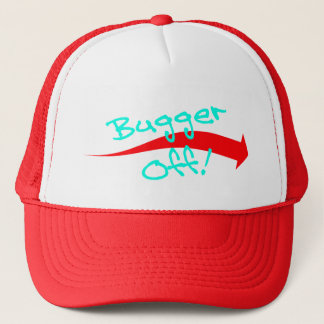 Hat Cap Fun British Slang Expression Bugger Off!