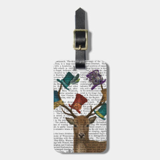 Hat Collector Deer Tags For Luggage