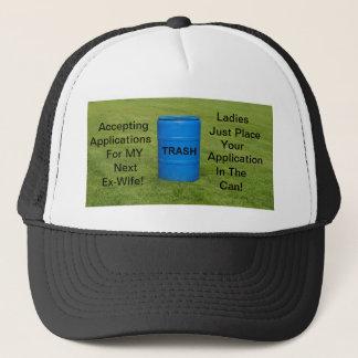 Hat/ Ex-wife humor Trucker Hat