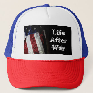 Hat- Flag- Life After War Trucker Hat