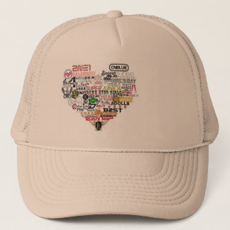 Hat for the kpop fans