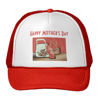 """Hat """"happy Mother's day"""""""