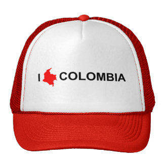 Hat - I Love Colombia