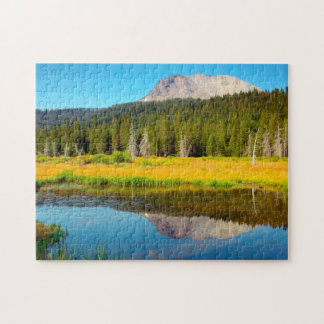 Hat Lake In Lassen Volcanic National Park Jigsaw Puzzle