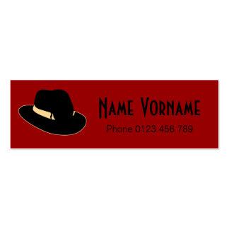 Hat Mini Business Card