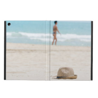 Hat on the beach case for iPad air