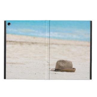 Hat on the beach iPad air case
