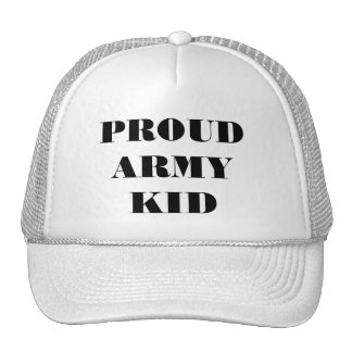 Hat Proud Army Kid