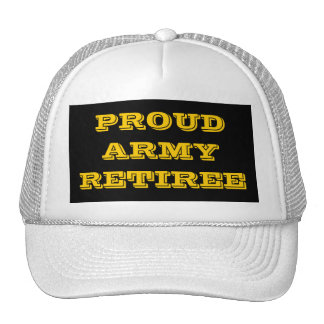 Hat Proud Army Retiree