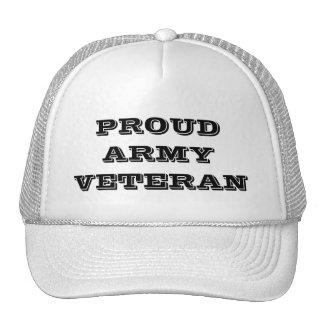 Hat Proud Army Veteran