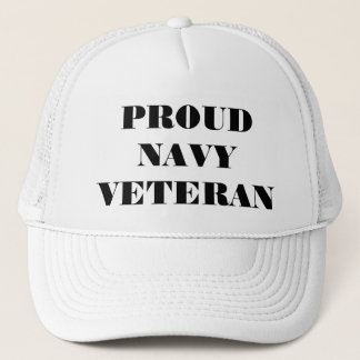 Hat Proud Navy Veteran