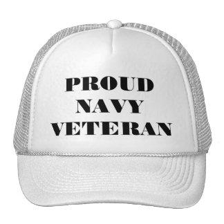 Hat Proud Navy Veteran