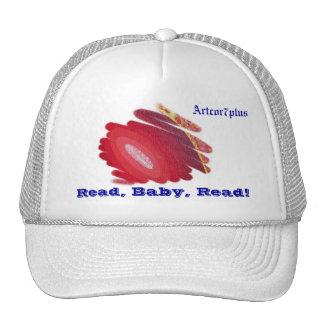 Hat Red Spirals Art Read Baby Read